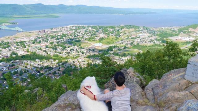 Mont Sugarloaf voyage road-trip Nouveau-Brunswick Acadie