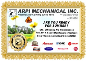 Save on Spring HVAC service