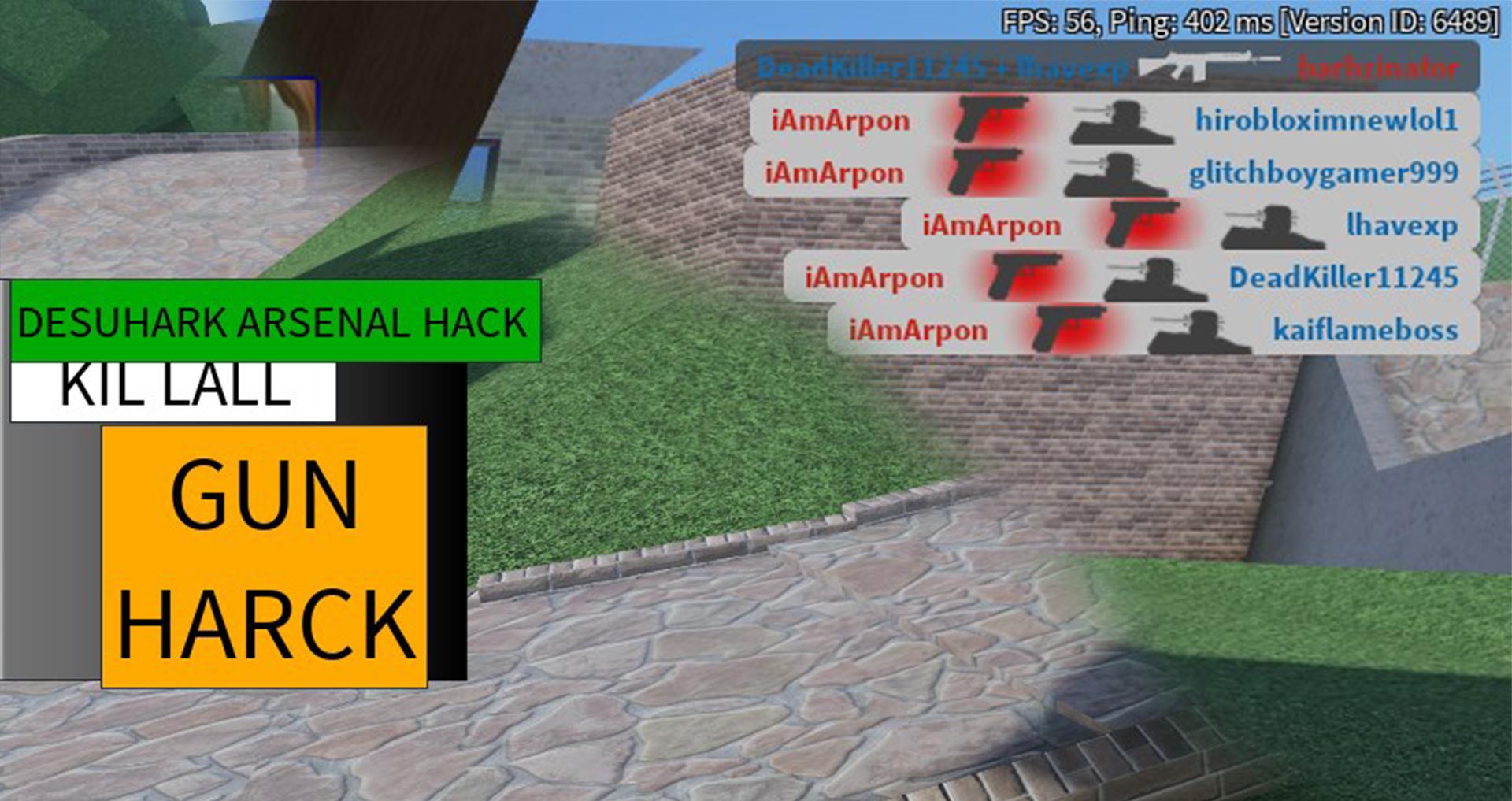 arsenal desuhark kill all gun hack