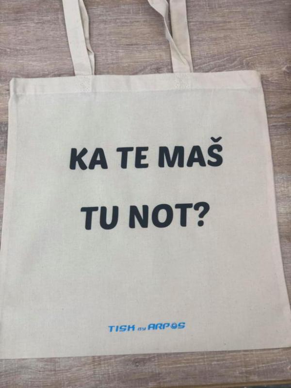 Nosilna vrečka Ka te maš