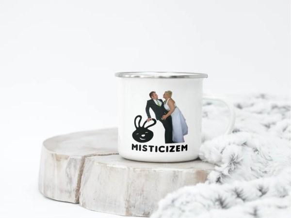 Emajliran lonček Misticizem-poroka