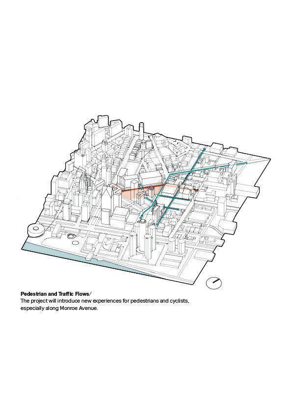 Monroe Blocks, desarrollo de usos mixtos en Detroit