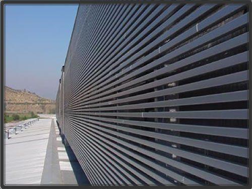 Productos Arquitectnicos LUXALON Cortasoles y Celosas