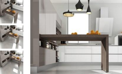 Barras para cocina: Estilos e instalación