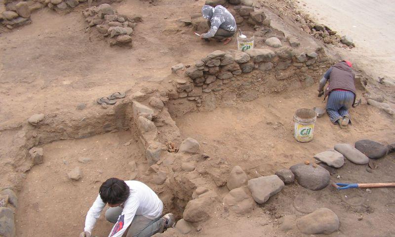 Milenaria aldea Pampas de Gramalote extraía productos del cerro Campana de Trujillo