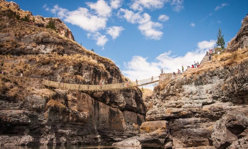 Gobierno Regional del Cusco declara prioritario preservar el puente incaico Q'eswachaka