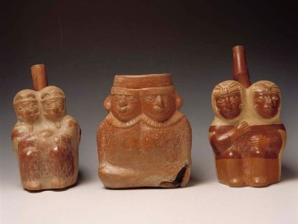 Ceramicas siamesas mochica