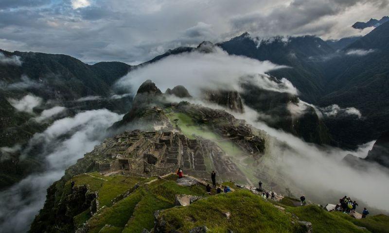 La sensación que experimentas en Machu Picchu es que Dios habita allí