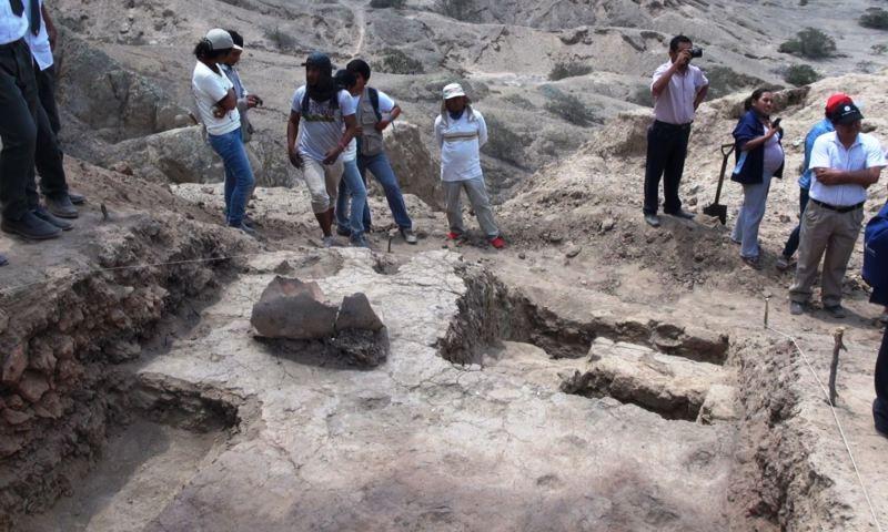 """Descubren """"Templo Quemado"""" de cultura Lambayeque en cerro Luya"""