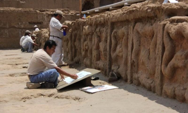 Nuevos importantes hallazgos en Huaca de la Luna, Trujillo, Perú