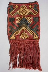 Tapiz Tapiz kelim en algodón y fibra de camélido, de las culturas nazca-wari (650-850 d.C.). Foto: Museo de Arte de Lima. Donación Memoria Prado