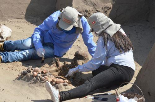 Inician investigación arqueológica en complejo Túcume