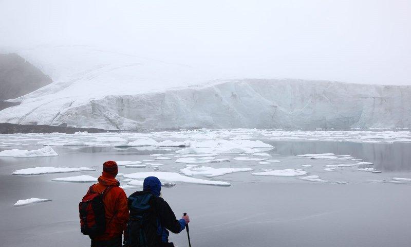 Ruta del Cambio Climático por el glaciar Pastoruri, en Ancash, Perú