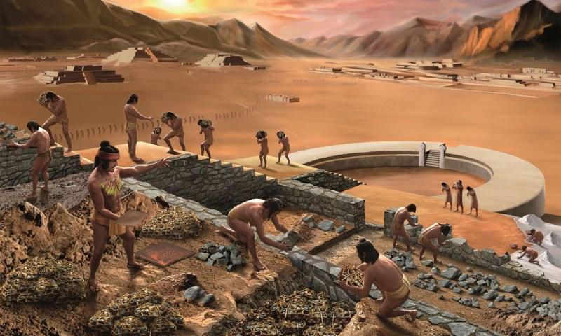 25 años de excavaciones en el yacimiento de Caral