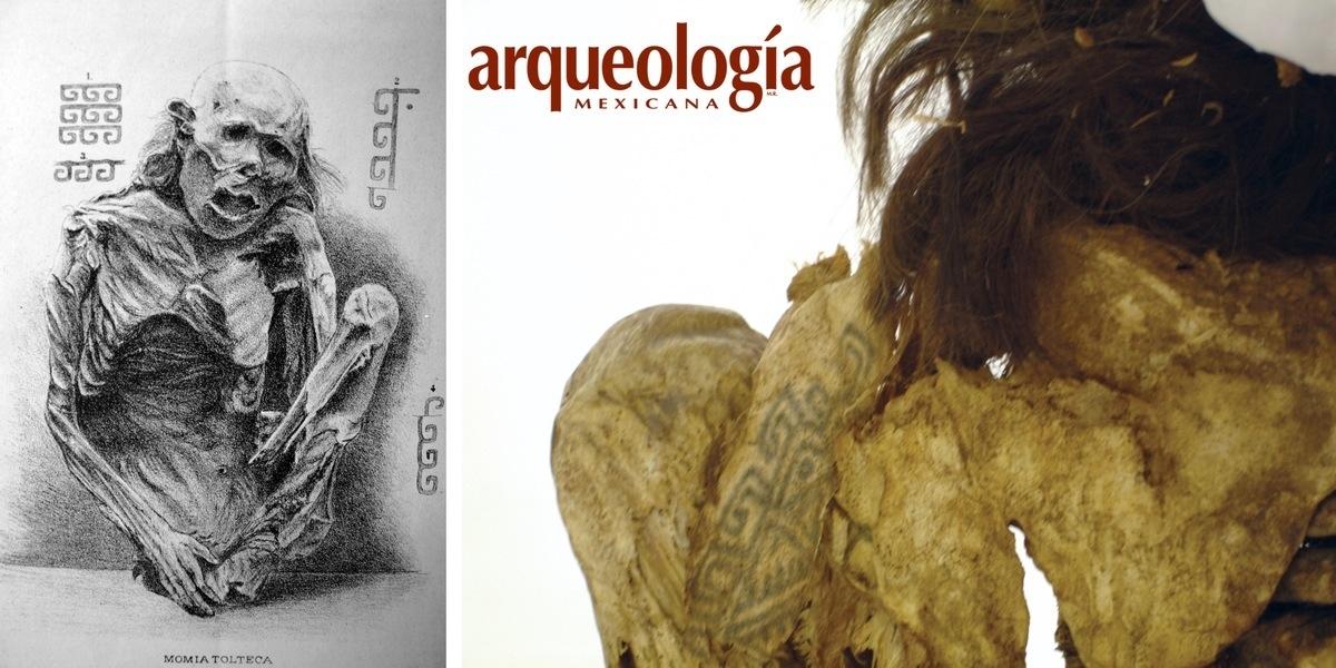 Momias Y Tatuajes Arqueología Mexicana