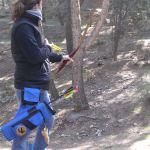 Marta prepara el tiro