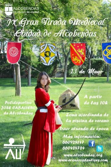 2018 - Cartel Tirada Medieval