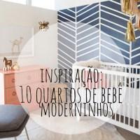 Inspiração: 10 quartos de bebê moderninhos