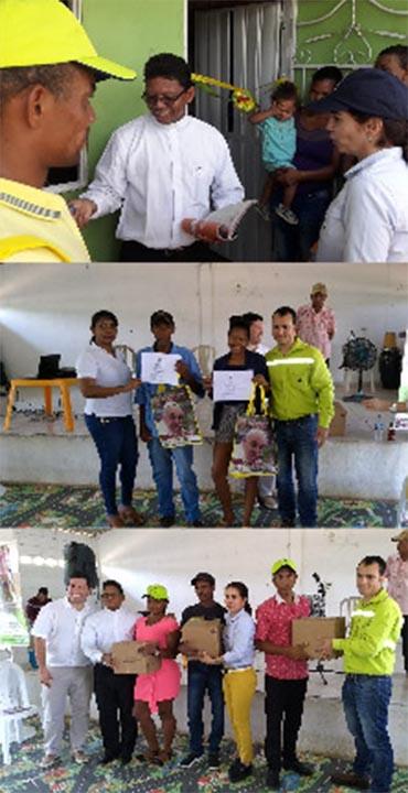 233 familias beneficiadas en proyecto entre Argos y la Arquidiócesis de Cartagena