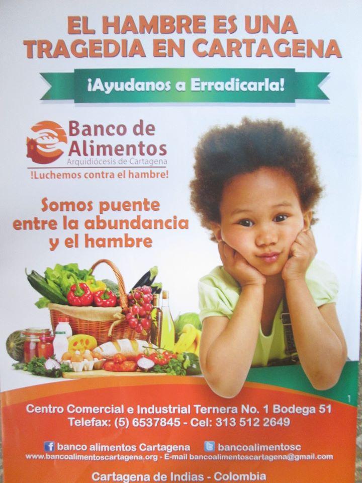 ¡PRIMERO LOS MÁS POBRES! DONACIONES AL BANCO DE ALIMENTOS