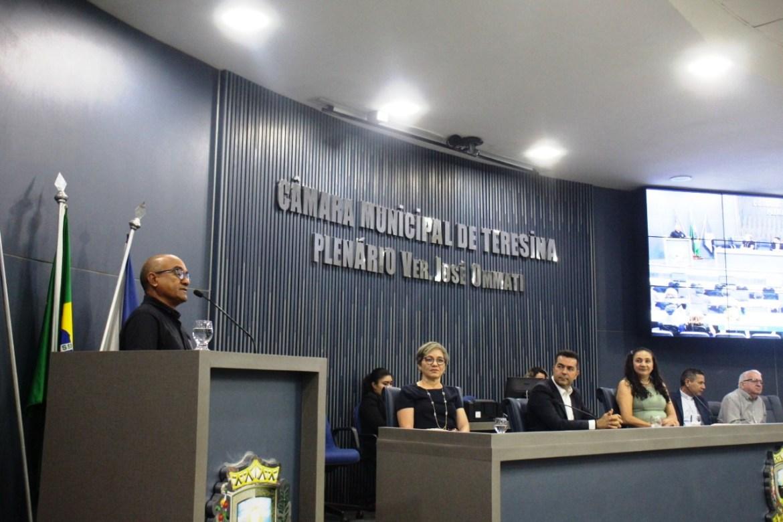Diácono Wilson em plenária