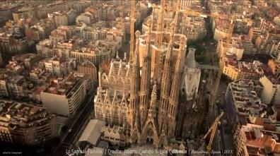 La Sagrada Familia. Antonio Gaudi's Masterpiece | Image taken from the video created by Alberto Castaño & Luis Caldevilla