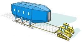Relocation Scheme | Image by Hugh Brughton Architects (via designboom)