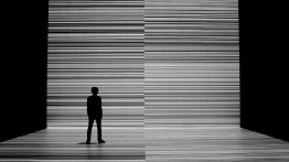 testpattern 2010 - audiovisual installation | testpattern_numbernº3 | photo: Marc Domage | more: http://www.ryojiikeda.com/