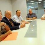 EN LA GACETA. Carrizo, Maldonado, Benejam, Cárdenas y Córdoba explicaron los alcances del primer boletín. LA GACETA / FOTO DE INÉS QUINTEROS ORIO