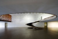 OSCAR NIEMEYER (1907-2012) View of the sculptural ...