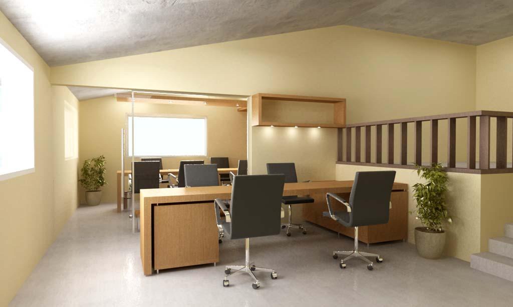 3D Interior Oficina y Diseo del Mobiliario  Arquitectoscompy  Paraguay Galera Social de Arquitectura paraguayaarquitectos