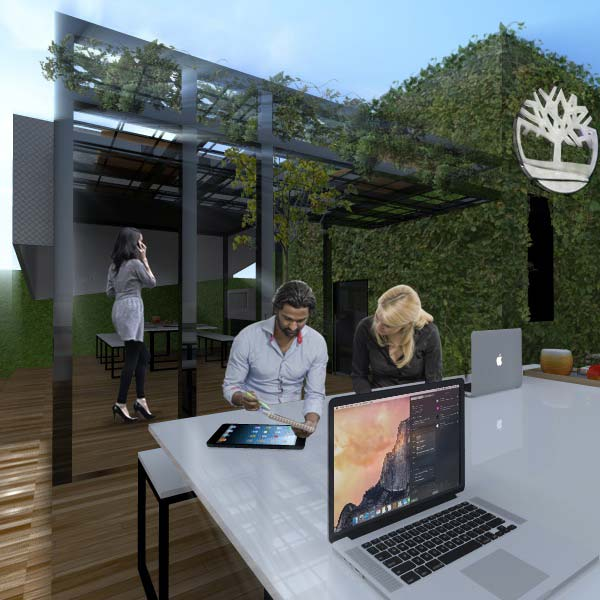 Nueva Terraza Comedor en la Ciudad de Mxico  Timberland