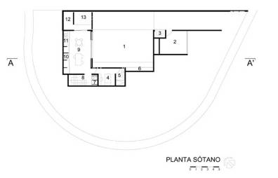 CasaBlanca-Planta-Sótano