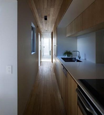 La cocina pasillo  Arquitectura de Calle