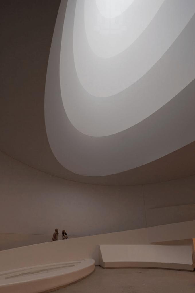 Exposicin de James Turrell en el Museo Solomon Guggenheim