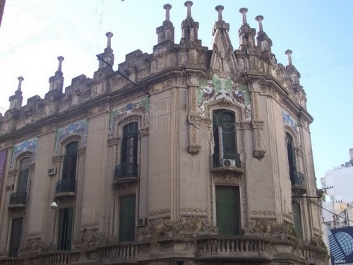 Arquitectura de fachada en el Art Nouveau  Arquitectura