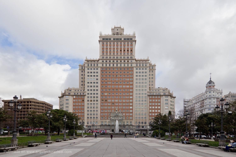 El Edificio Espaa en Madrid podra desaparecer tal como lo conocemos  Arquitectura Ideal