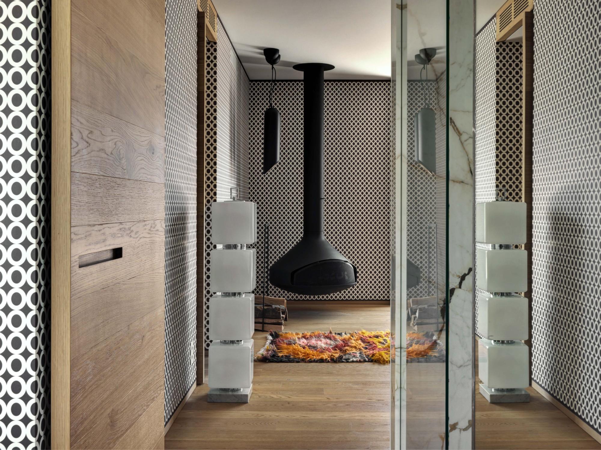 Urbanización de lujo con una fachada hecha de cubos de cristal 14
