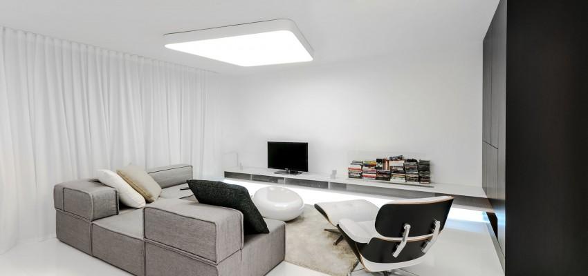 Apartamento minimalista con un diseo fresco y un ambiente