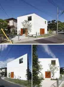 Casas Modernas Cuentan Una Fachada Minimalista