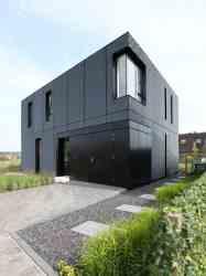 14 ejemplos de casas modernas con exteriores negros Arquitectura Ideal