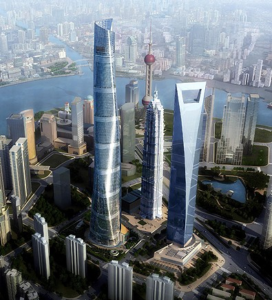 Torre de Shanghai, China