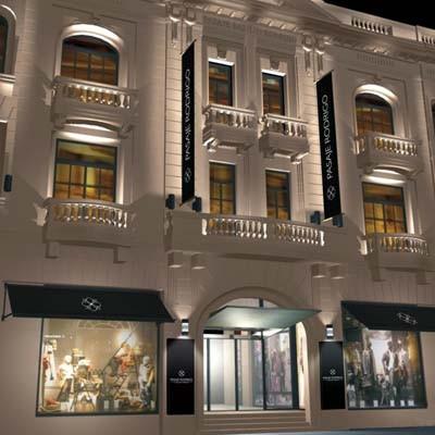 El edificio de 1929 reabre convertido en un shopping de lujo, con 3600 m2