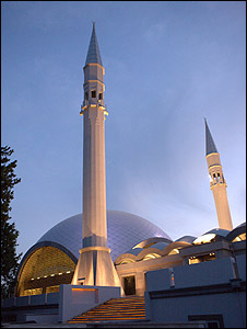 Exterior de la Mezquita Sakirin