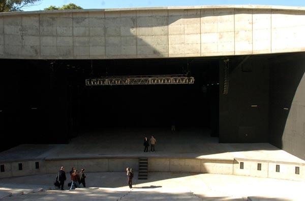 Anfiteatro del Parque Centenario, el mayor de la ciudad de Buenos Aires