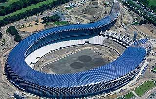 Nuevo estadio mundial de Taiwan