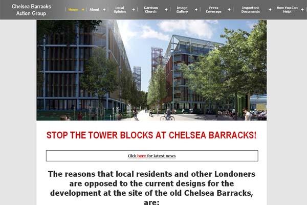 Los vecinos de Chelsea Barracks se opusieron al proyecto Foto:http://www.chelseabarracks.org.uk/