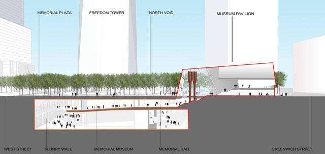 Museum Pavillion at Dusk, Squared Design Lab