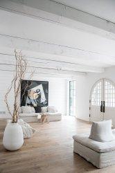 Una casa moderna decorada siguiendo las tendencias de Pinterest e instagram