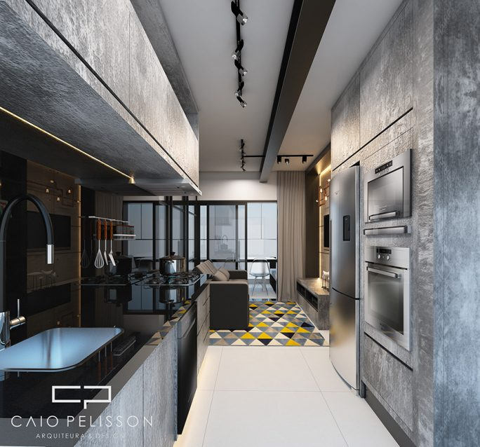 projeto decoracao design apartamento studio e motion